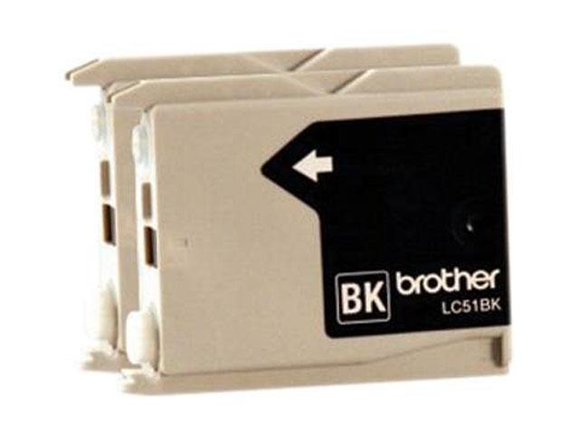 brother LC512PKS 2 Pack Ink Cartridge Black