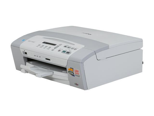 Brother DCP series DCP-165C Up to 33 ppm 6000 x 1200 dpi Color InkJet All-In-One Printer