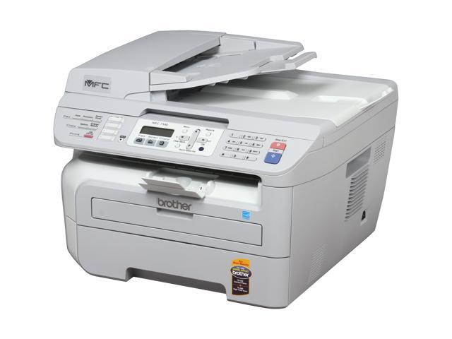 brother MFC7340 Compact Monochrome Laser AllinOne Printer