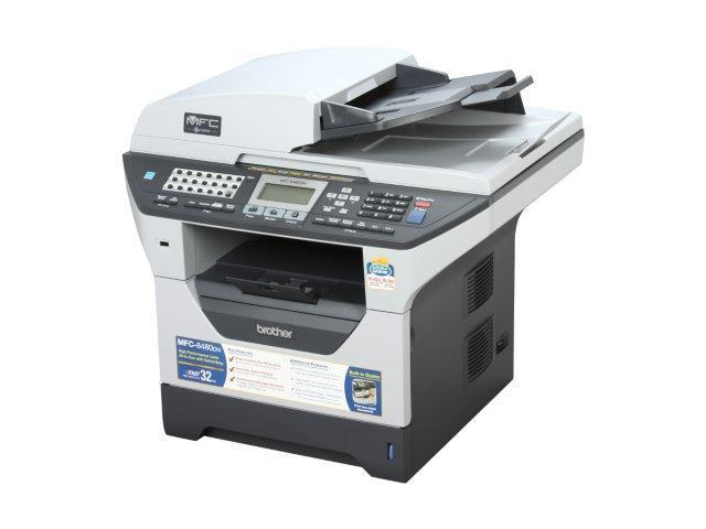 brother MFC-8480dn Up to 32 ppm High-Performance Laser All-in-One Printer with Networking and Duplex Printing