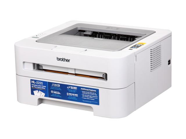 Brother HL Series HL-2220 Personal Monochrome Laser Printer