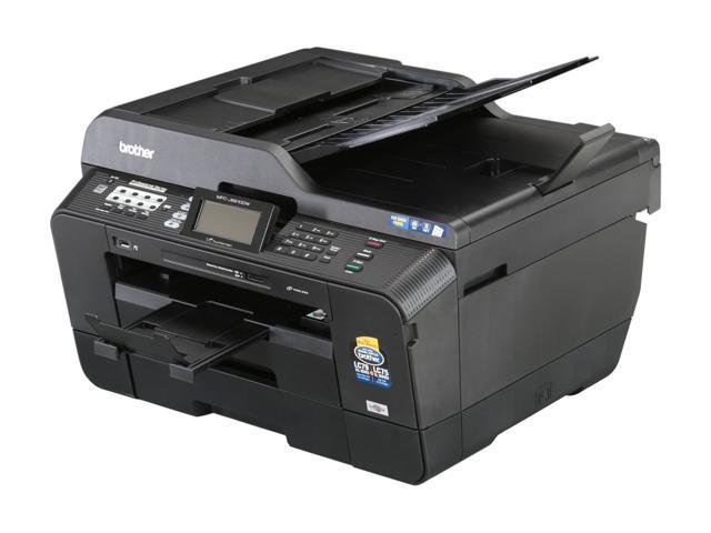 Brother MFC series MFC-J6910dw Up to 35 ppm Black Print Speed 6000 x 1200 dpi Color Print Quality Wireless InkJet MFC / All-In-One Color Printer