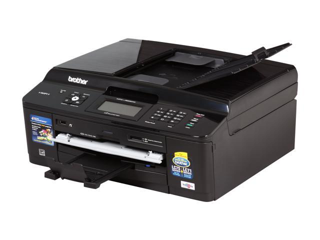 Brother MFC-J825DW Up to 35 ppm Black Print Speed 6000 x 1200 dpi Color Print Quality Wireless InkJet MFC / All-In-One Color Printer