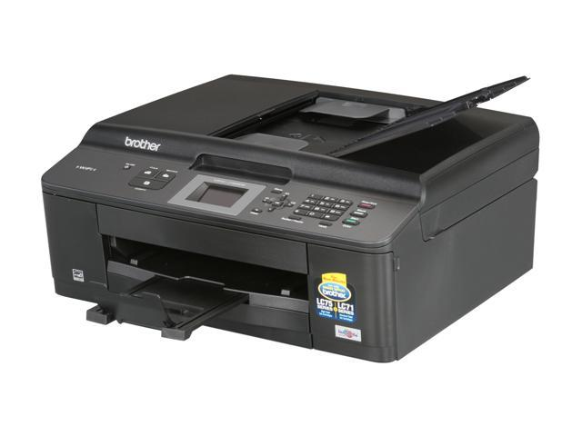 Brother MFC series MFC-J425w Up to 33 ppm Black Print Speed 6000 x 1200 dpi Color Print Quality Wireless InkJet MFC / All-In-One Color Printer