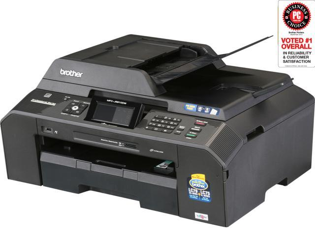 Brother MFC-J5910DW Wireless Color Multifunction Inkjet Printer
