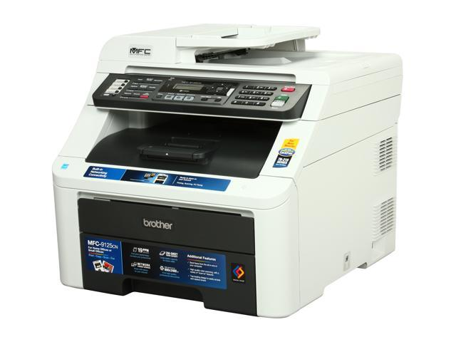 Brother MFC Series MFC-9125CN MFC / All-In-One Up to 19 ppm 600 x 2400 dpi Color Print Quality Color Digital Color LED Printer