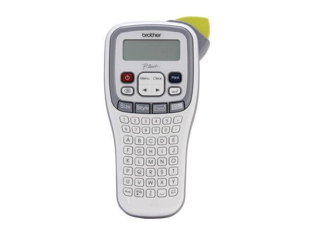brother PT-H100 Thermal Transfer Printer 20 mm / sec. 180 dpi Easy, Handheld Label Maker