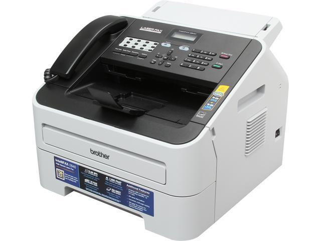 Brother FAX-2840 33.6 Kbps Super G3 Monochrome Laser Fax Machine