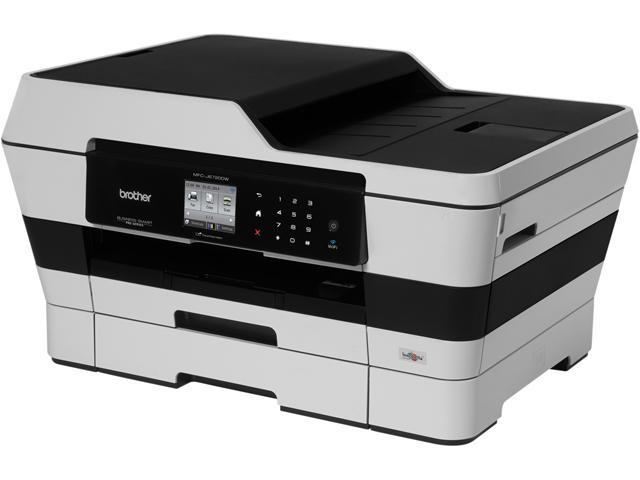 Brother Business Smart Pro MFC-J6720dw Up to 35ppm (Fast Mode) Up to 22ppm (ISO/IEC 24734) Black Print Speed 6000 x 1200 dpi Color Print Quality InkJet Workgroup Color Printer