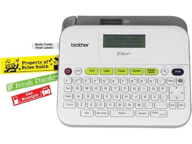Brother P-Touch PT-D400AD 180 dpi Versatile Label Maker