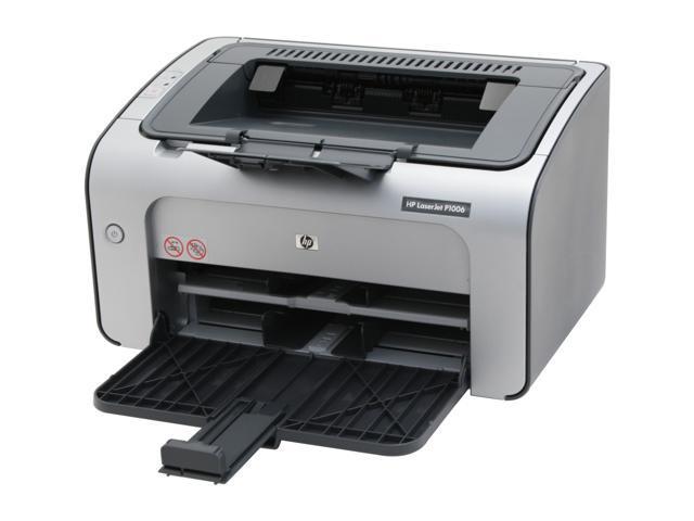 hp laserjet p1006 cb411a personal up to 17 ppm monochrome laser printer. Black Bedroom Furniture Sets. Home Design Ideas
