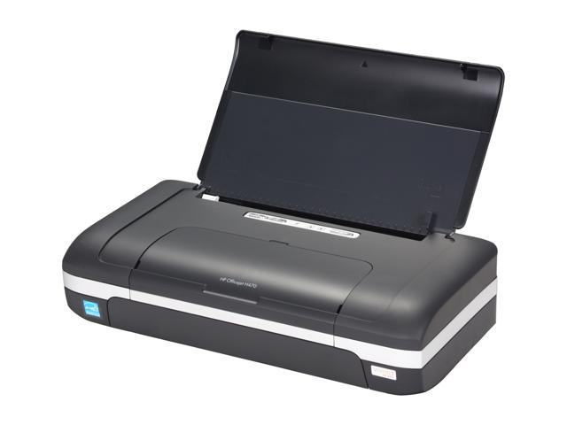 HP Officejet H470 CB026A Up to 22 ppm Black Print Speed Up to 4800 optimized dpi color and 1200 input dpi Color Print Quality Thermal Inkjet Mobile Color Printer