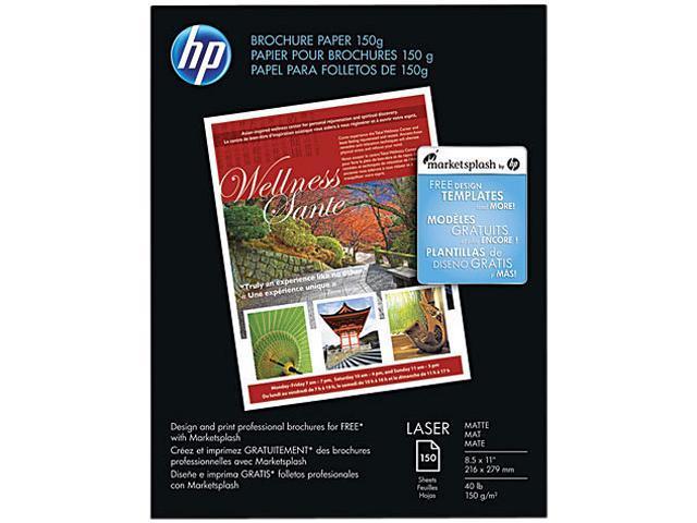 HP Q6543A Brochure/Flyer Paper Letter - 8.50