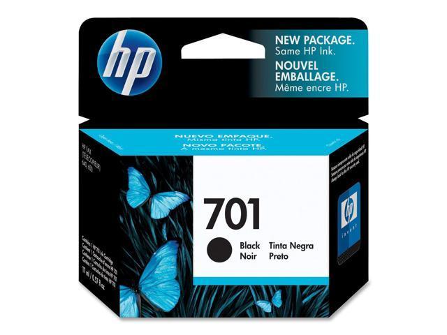 HP 701 Inkjet Print Cartridge Black
