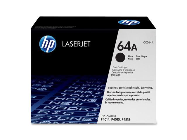 HP CC364A Print Cartridge with Smart Printing Technology Black