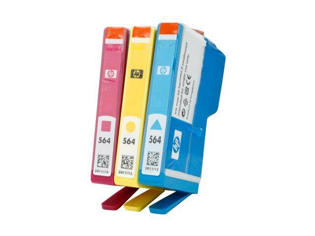 HP 564 (CD994FN#140) Ink Cartridge Cyan/Magenta/Yellow