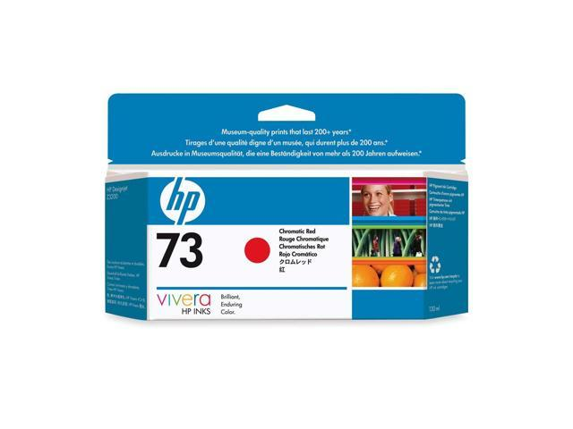 HP CD951A 73 130-ml Ink Cartridge Chromatic Red
