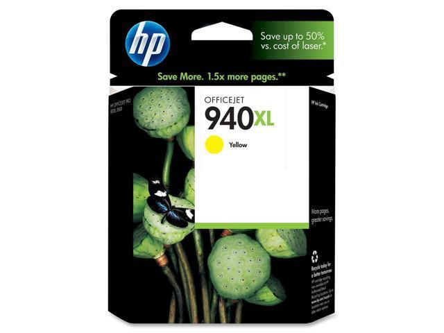 HP 940XL (C4909AN#140) Officejet Ink Cartridge Yellow