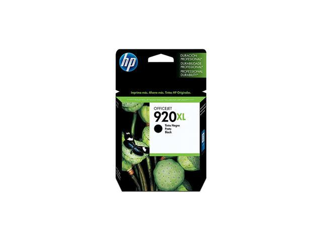 HP 920XL 1200 Page Yield Ink Cartridge; Black (CD975AN)