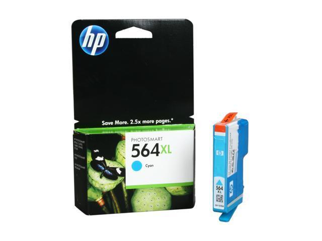 HP CB323WN#140 564XL Ink Cartridge Cyan