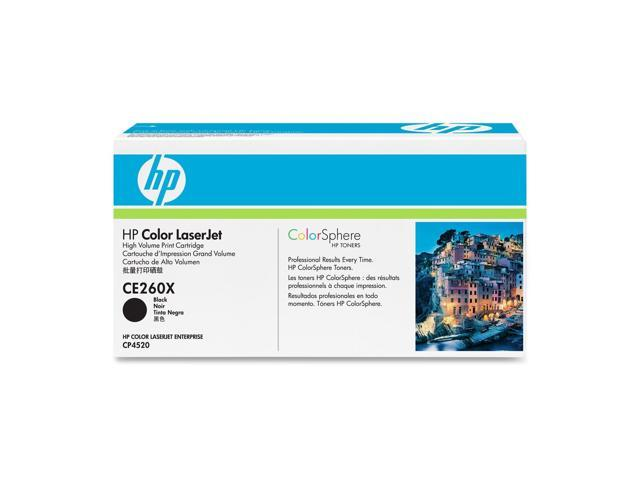 HP CE260X Color LaserJet Print Cartridge Black