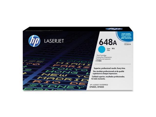 HP CE261A Color LaserJet Print Cartridge Cyan