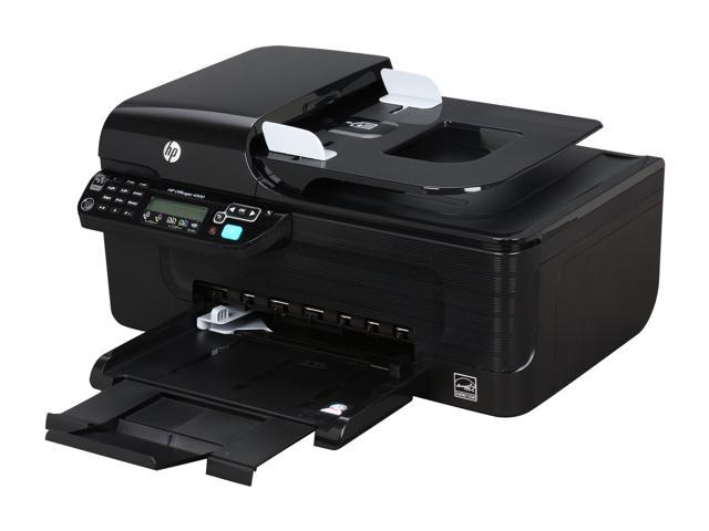 HP Officejet 4500 CB867A Up to 28 ppm Black Print Speed 4800 x 1200 dpi Color Print Quality Thermal Inkjet MFC / All-In-One Color Printer