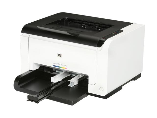 HP LaserJet Pro CP1025NW CE914A Personal Up to 17 ppm 600 x 600 dpi Color Print Quality Color Wireless 802.11b/g/n 4-pass color laser Printer