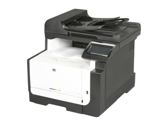 HP Laserjet Pro CM1415FNW CE862A MFC / All-In-One Up to 12 ppm 600 x 400 dpi Color Print Quality Color Wireless 802.11b/g/n Laser Printer