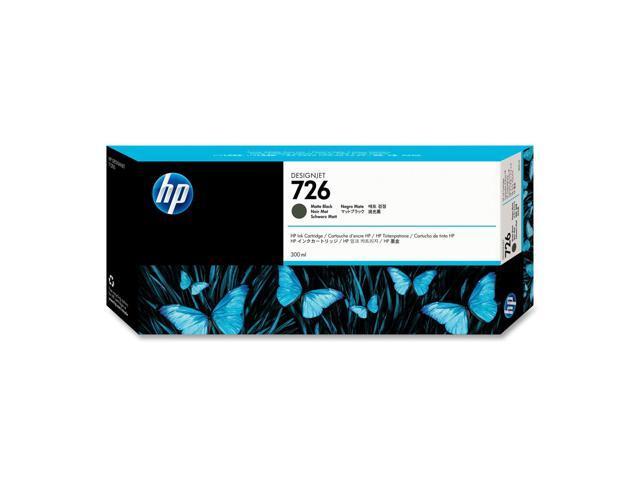 HP 726 300-ml Matte Black Designjet Ink Cartridge (CH575A)