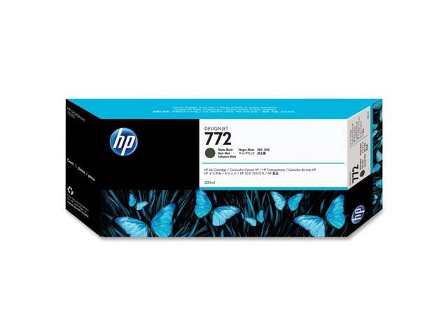 HP 772 Matte Black Designjet Ink Cartridge (CN635A)