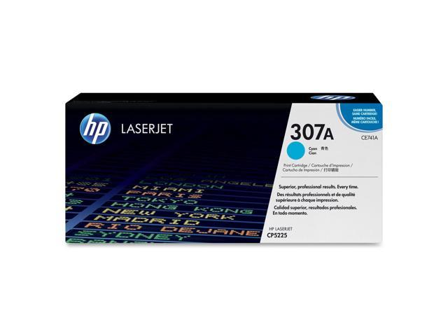 HP 307A Cyan LaserJet Toner Cartridge (CE741A)