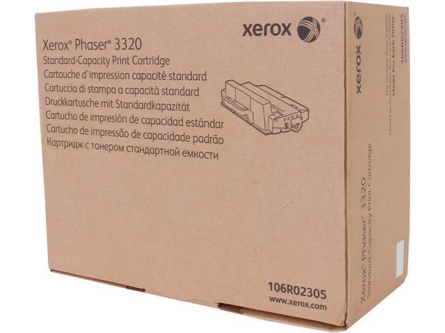 XEROX 106R02305 Standard Capacity Toner Cartridge Black for Phaser 3320