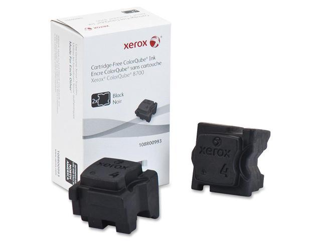 XEROX 108R00993 Colorqube Ink Black, Colorqube 8700 (2 Sticks)