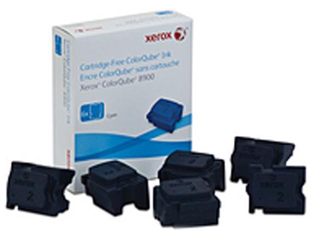 XEROX 108R01014 Solid Ink, 6/Pack Cyan