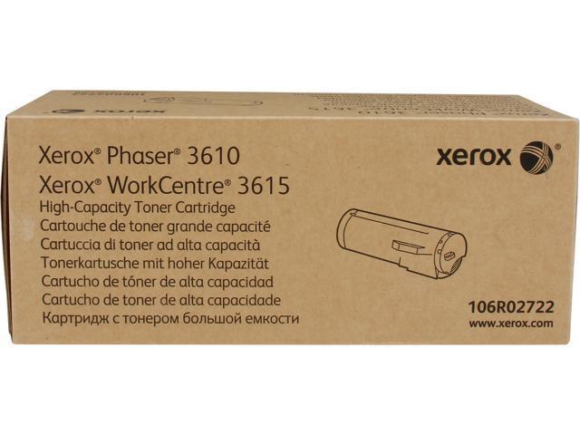 XEROX 106R02722 High Capacity Toner Cartridge Black