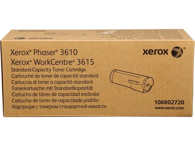 XEROX 106R02720 Standard Capacity Toner Cartridge Black
