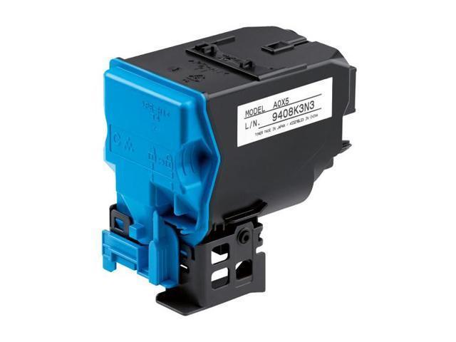 KONICA MINOLTA A0X5430 High Yield Toner Cartridge Cyan
