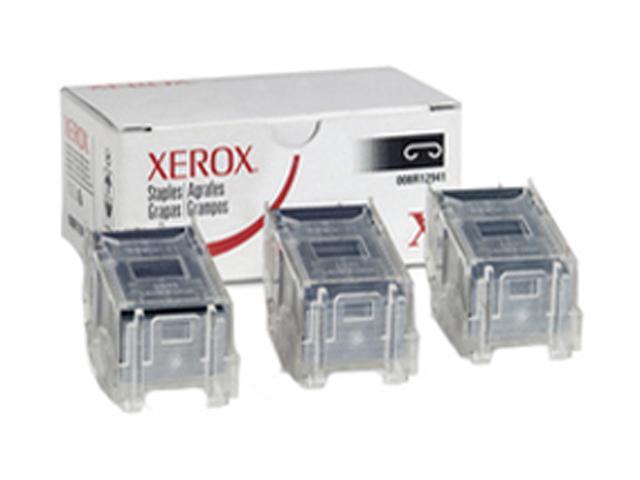 XEROX 008R12941 Stacker Staples Pack, 3 Cartridges x 5,000 Staples Each For Phaser 7760