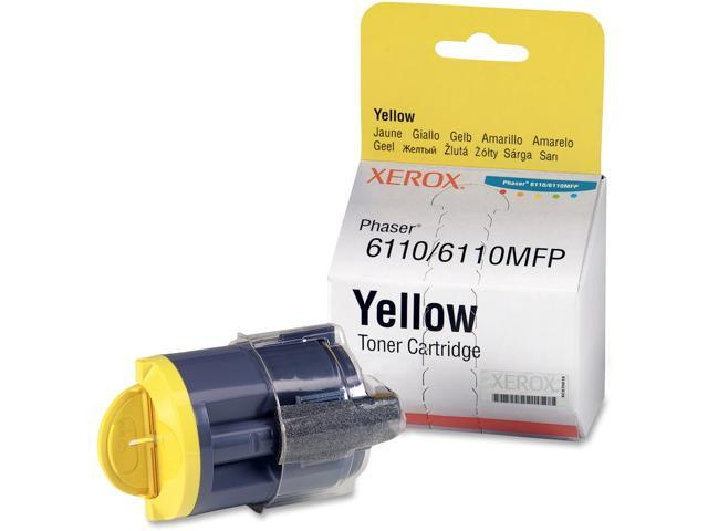 XEROX 106R01273 Toner For Phaser 6110MFP, Phaser 6110 Yellow