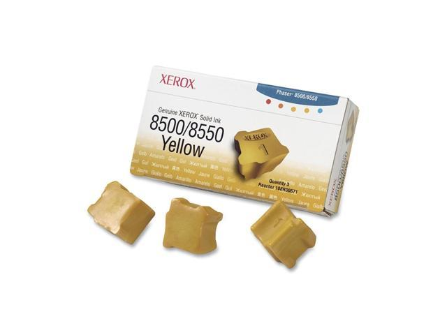 XEROX 108R00671 Solid Ink for 8500/8550 (3 Sticks) Yellow
