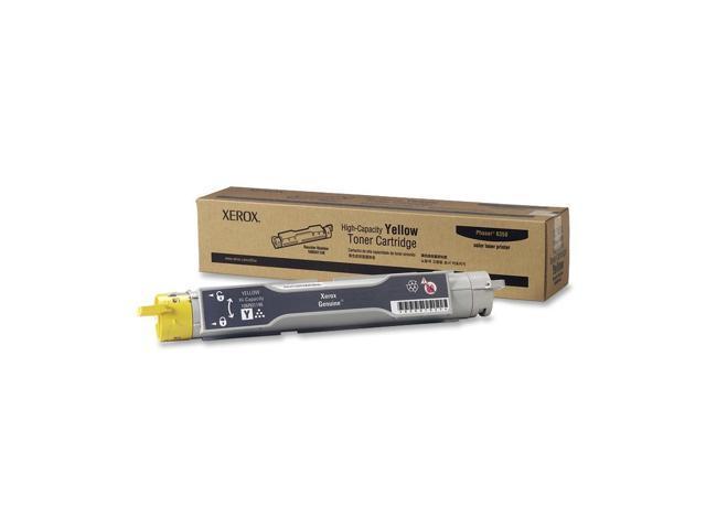 XEROX 106R01146 High Capacity Toner Cartridge For Phaser 6350 Yellow