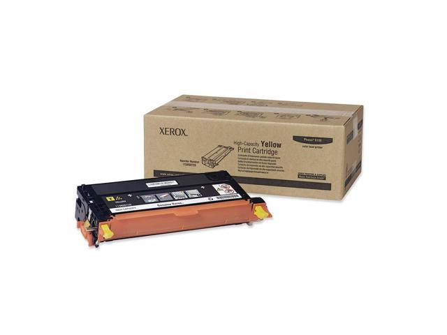 XEROX 113R00725 High Capacity Print Cartridge Yellow for Phaser 6180 Series