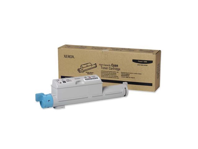 XEROX 106R01218 High Capacity Toner Cartridge For Phaser 6360 Cyan