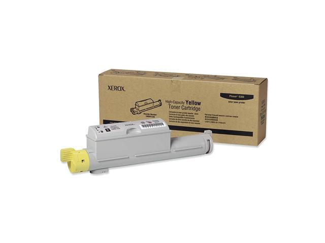 XEROX 106R01220 High Capacity Toner Cartridge For Phaser 6360 Yellow