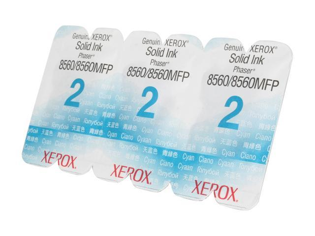 XEROX 108R00723 Solid Ink Cyan, Phaser 8560/8560MFP (3 sticks) Cyan