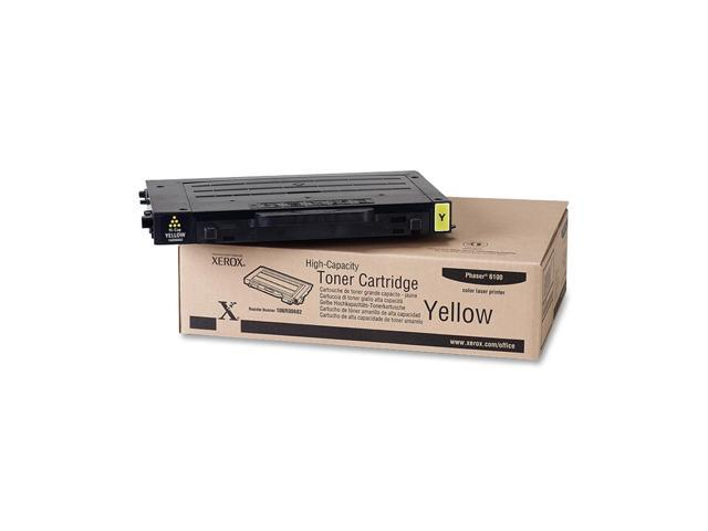 XEROX 106R00682 High Capacity Toner Cartridge For Phaser 6100 Yellow
