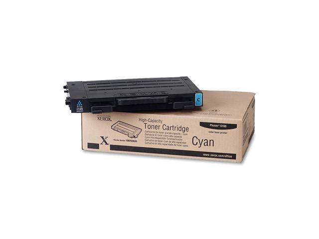 XEROX 106R00680 High Capacity Toner Cartridge For Phaser 6100 Cyan