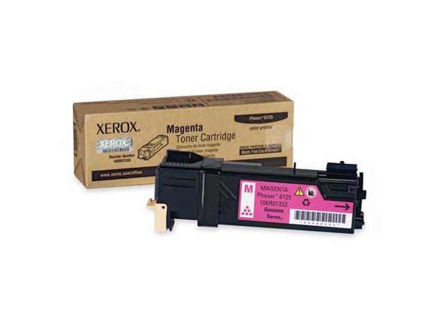 XEROX 106R01332 Toner Cartridge For Phaser 6125 Magenta