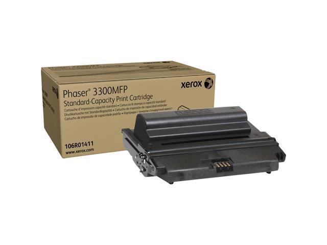 XEROX 106R01411 Standard Capacity Print Cartridge Black For Phaser 3300MFP